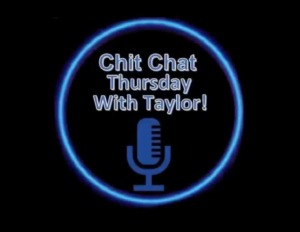 Logo for Chit Chat Thursday with Taylor.
