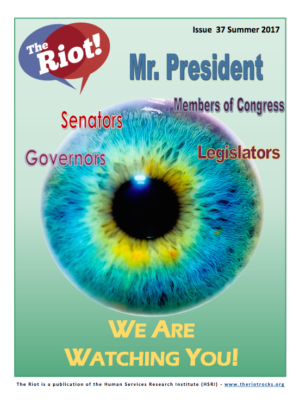 cover of Riot newsletter